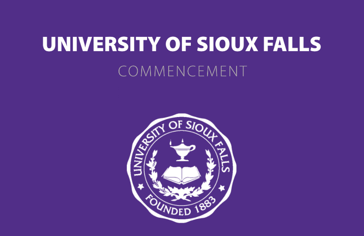 University of Sioux Falls Commencement