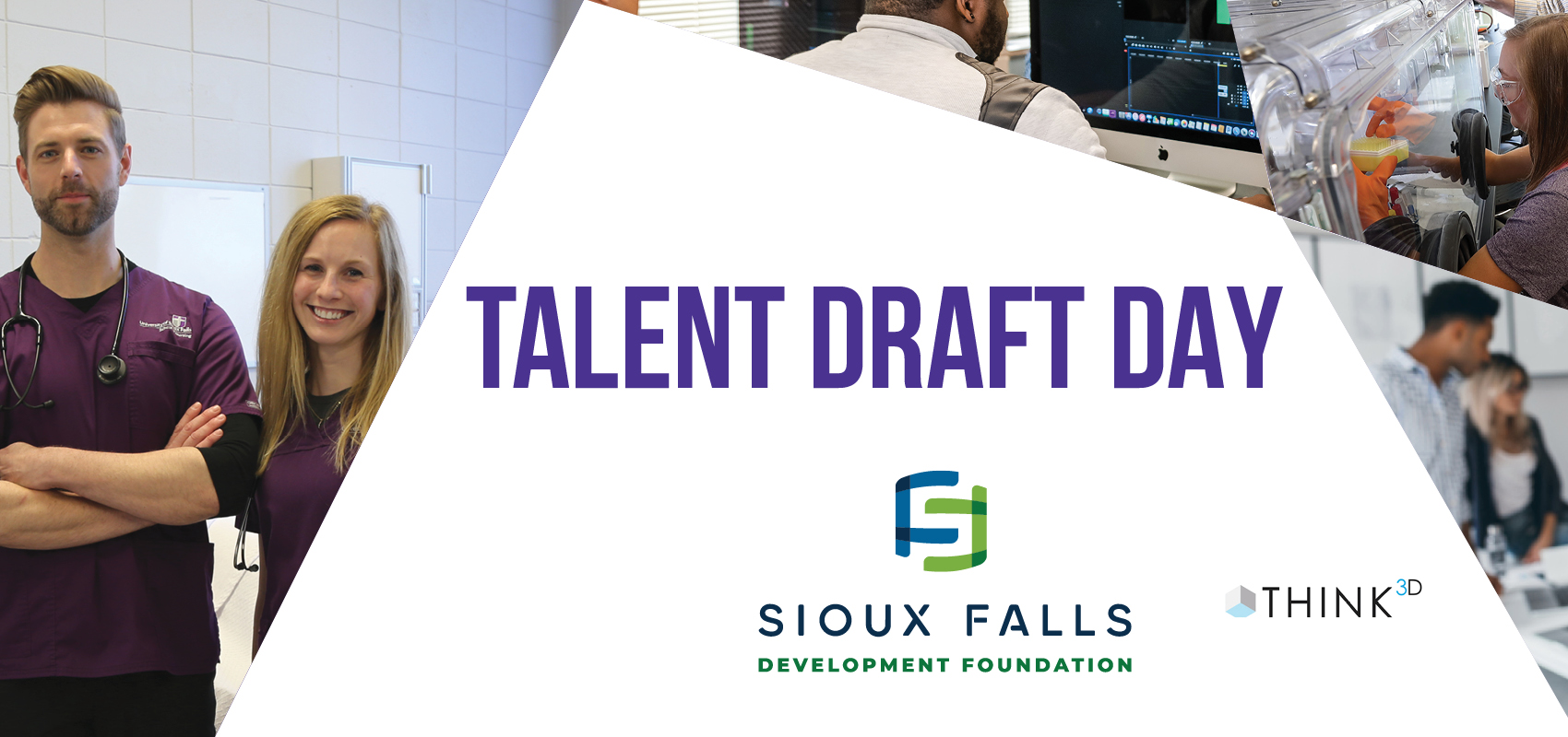Talent Draft Day nursing students and science students
