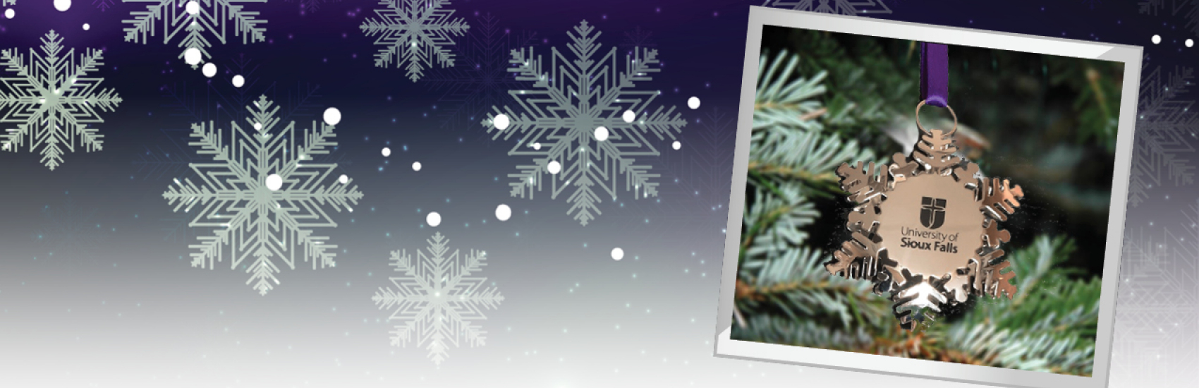 Christmas Ornament in snowflake shape