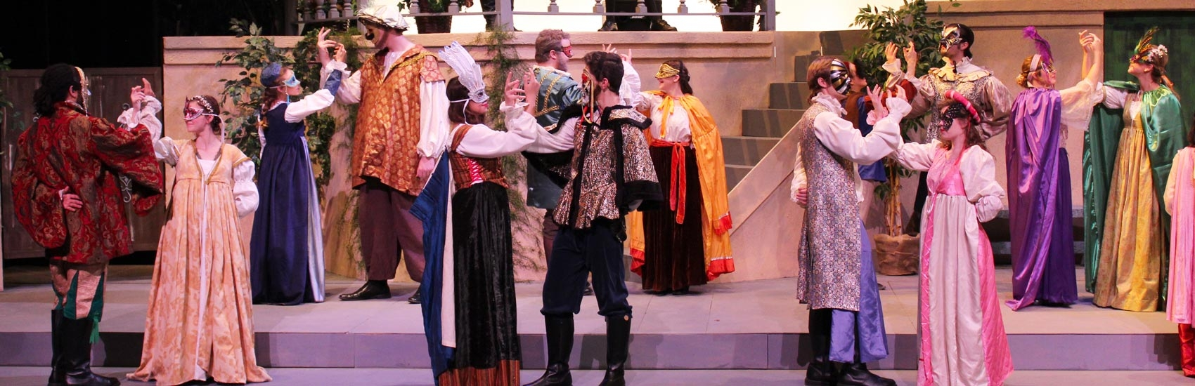 a performance of much ado about nothing