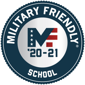 Military Friendly school 20-21 seal