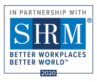 In Partnership with SHRM better work places better world