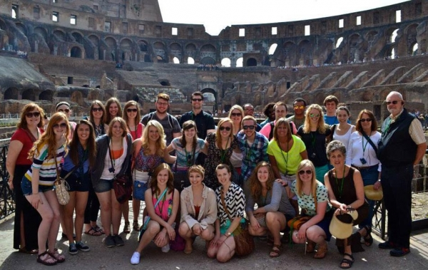 Choir Tour in Rome, Italy.