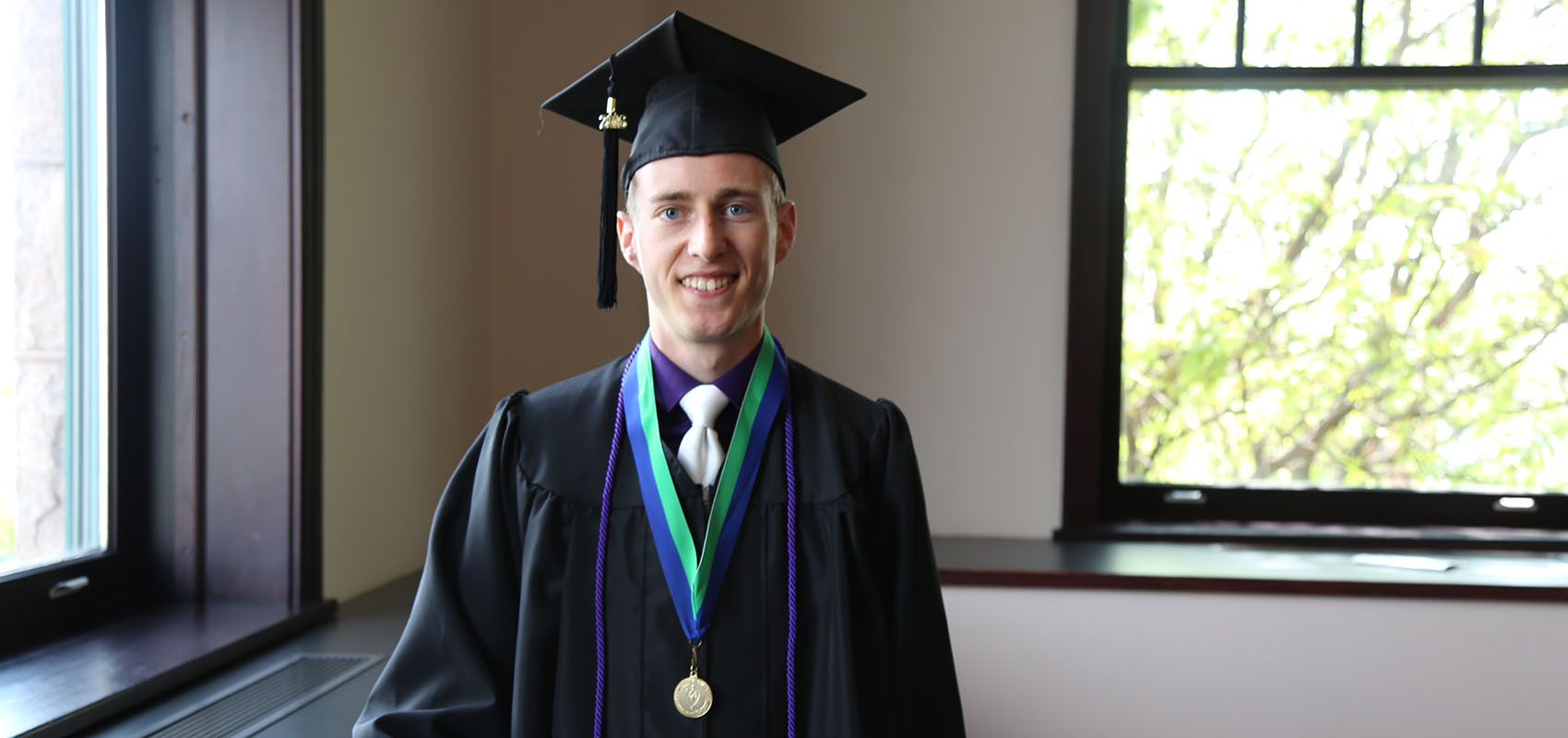 USF Exercise Science graduate on graduation day.