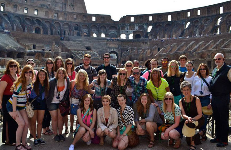 USF Concert Chorale in Rome, Italy.