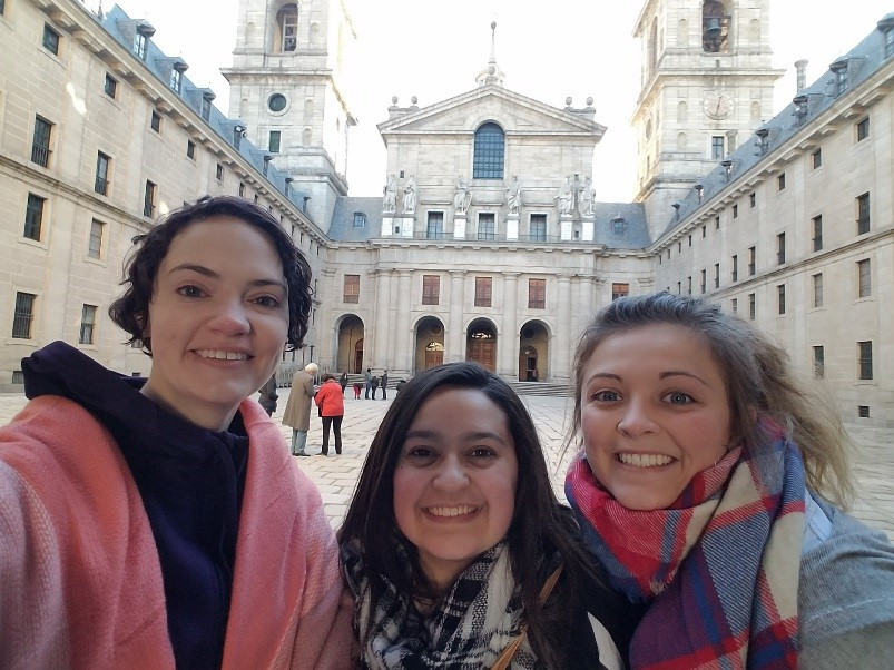 USF Spanish students study abroad in Spain.