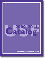 USF academic catalog, 2009 to 2011.