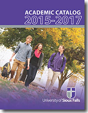 USF academic catalog, 2015 to 2017.