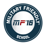military friendly school 2016 badge
